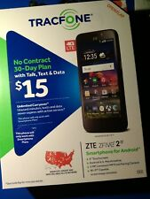 New listing zte z five 2 tracfone 5' Ips 4G Wi-Fi 5 Camera 5 camera f back 2 android 6.0