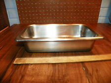 Bloomfield Industries 2.5 Qt Steam Table Pan 18-8 Stainless Steel Mgst-1402