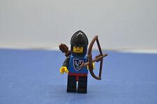LEGO 1 x Falkenritter Kopf links sonder   black falcon Set 6062 6102 6103 #FI20