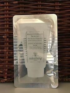 Sisley Deeply Purifying MASK WITH TROPICAL RESINS sample 4 ml / .13 oz NEW