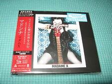 MADONNA SHM-2CD Hardback Madame X w/Bonus Track Japan UICS-9159~6 OBI
