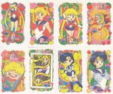 Sailor Moon - R Irezumi Seal Temporary Tattoo Card LOT of 16 [EX] Ail An SMR
