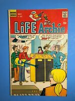 LIFE WITH ARCHIE #97 Archie Series may 1970 Audition, The Tables Turn, & more
