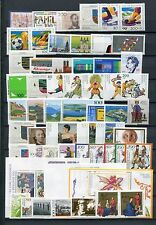 GERMANY 1994 MNH COMMEMORATIVES COMPLETE YEAR 56 Stamps + 3 SHEETS