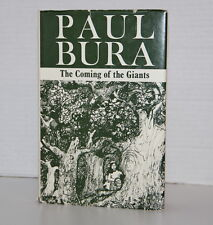 Signed by Paul Bura The Coming Of The Giants 1978 Poetry