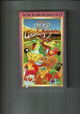 K7 VHS dessin animé ANIMALYMPICS - Les fous du stade vont passer à la TV