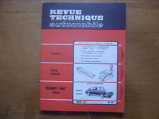 Revue Technique Automobile 311 RTA 1972 PEUGEOT 504 DIESEL SPECIAL OUTILLAGE