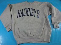 vtg 90s Hackneys university college spell out sweatshirt sweater jumper
