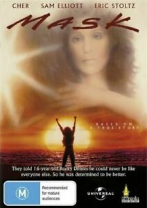 Mask DVD Cher,Eric Stoltz New and Sealed Australian Release