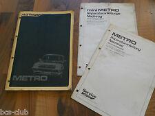 AUSTIN MG METRO Rover 100 Motor Getriebe Kaross 1980- General WERKSTATT HANDBUCH