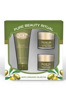 Geschenkset Pure Beauty Ritual mit grichischem Olivenöl ( 3 tlg )