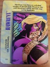 Marvel Overpower IQ Hawkeye Quiver of Arrows NrMint-Mint Card