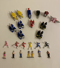 Micro Machines Power Rangers Mini Action Figures (Bandai, MMPR)