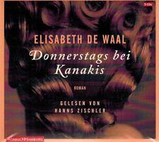 HÖRBUCH-CD-BOX NEU/OVP - Donnerstags bei Kanakis von Elisabeth De Waal
