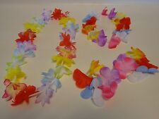 HULA Sets FLOWER BRACELETS,LEI,HEAD BAND~LUAU PARTY