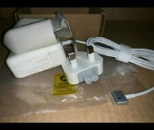 More details for mag safe 2 (t shape) 45w macbook pro charger uk plug power adapter.