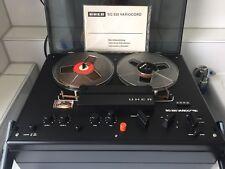 Uher Tonbandgerät SG 520 Variocord Tonband Stereo Bandmaschine mit Haube