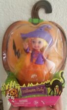 Barbie Kelly Doll 2006 Blonde Witch Nrfb Halloween Party Bar Code Marked Out