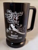 """Black Amethyst Wonderful World Of Watkins Convention 1989 Coffee Mug 5.5"""" Tall"""