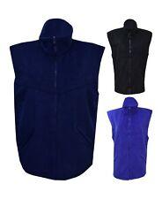 New Women Ladies Body warmer Fleece Zip Pocket Sleeveless Jacket Plus size 14-28