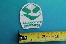 Lemont Surfboards Surf Fusion Surfing Sticker