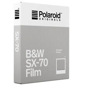 Polaroid Originals SX-70 Instantanée Noir & Blanc Film Daté 02/2021