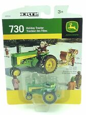 1/64 ERTL JOHN DEERE 730 SNOW HOLIDAY TRACTOR