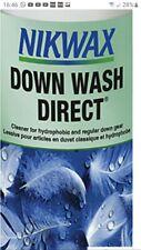 Nikwax Down Direct washin  Cleaner water repellant puffa feather 300ml #B397
