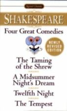 Four Great Comedies : The Taming of the Shrew - A Midsummer Night's Dream -.