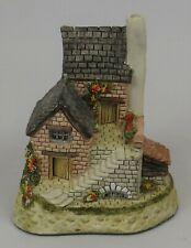 """Vintage 1990 David Winter Cottages """"The Cobbler"""" Original Box & Coa * Excellent!"""
