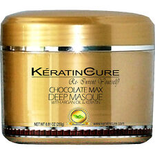 KERATIN CURE DEEP REPAIR CONDITIONER MASQUE CHOCOLATE ARGAN OIL 250G/8.81oz