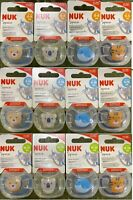 NUK SPACE SOOTHER SILICONE BPA FREE PACIFIER 0-36 FREE SHIPPING !!!