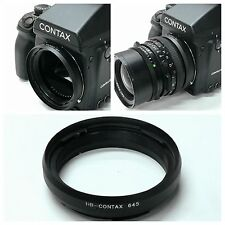 New Adapter Ring for Hasselblad lens to Contax 645 camera Brass Black