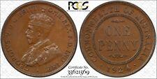 Australia 1924 English Obverse Penny MS62 lot 0329