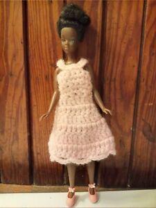 """VTG 1972 Shindana Toys 9"""" African American Doll Career Girls Ballerina Black"""
