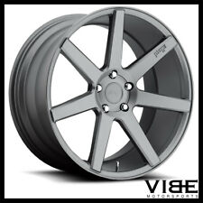 """20"""" NICHE VERONA GUNMETAL CONCAVE WHEELS RIMS FITS FORD MUSTANG SHELBY GT GT500"""