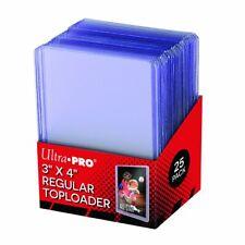 Ultra Pro 3x4 35pt Regular Toploader factory Sealed 25 pack 81222
