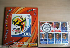 ALBUM FIGURINE PANINI=SOUTH AFRICA 2010=FIFA WORLD CUP=COMPLETO+40 AGGIORNAMENTI