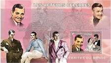 Actors Cinema film Clark Gable Congo DR de Luxe s/s Yv.1734 #CDR0620b