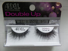 (LOT OF 4) Ardell Double Up Demi Wispies Authentic Ardell Eyelashes Black