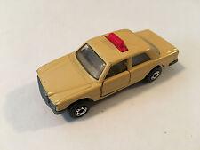 Matchbox Superfast Mercedes-Benz 450 SEL Taxi Diecast 1:64 Scale Model Car