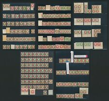 More details for heligoland stamps 1867-1890s qv 180+ stamps inc blocks, reprints, forgeries