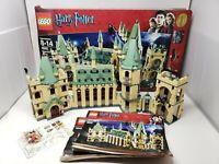 Lego Harry Potter SET 4842 HOGWARTS CASTLE COMPLETE NO MINIFIGURES INSTRUCTIONS