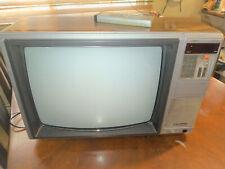 VINTAGE EMERSON RETRO TV  Color TV -Woodgrain ECR-221 W REMOTE