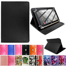 Leather 360 Flip Stand Case Cover For Amazon Lenovo Huawei EGL Tesco Hudl Tablet