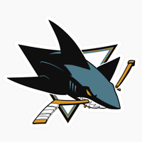 San Jose Sharks Logo NHL DieCut Vinyl Decal Sticker Buy 1 Get 2 FREE