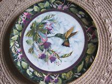 "Collect. Franklin Mint Royal Doulton ""The Berylline Hummingbird Bone China Plate"