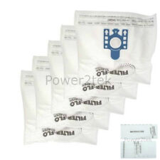 5x GN Vacuum Cleaner Bags for Miele S5281 S5311 S5380 NEW