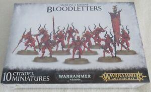 Warhammer 40K/ Age of Sigmar Khorne Bloodletters, BNIB