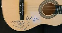 CHEECH AND CHONG SIGNED ACOUSTIC GUITAR UP IN SMOKE WEED HIGH RARE W/COA+PROOF